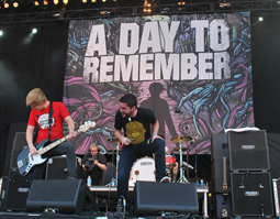 Pop-punk band A Day to Remember has memorable debut